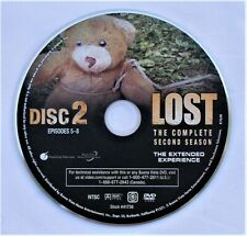 LOST (TV show) SEASON 2 DISC 2 REPLACEMENT DVD DISC ONLY