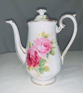 Royal Albert - American Beauty, 17cm coffee pot. Made in England