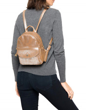 New with Tag - $298 Frye Melissa Mini SIlver Multi Distressed Leather Backpack