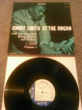 JIMMY SMITH - AT THE ORGAN VOLUME 1 LP EX (+) !!! U.S BLUE NOTE BST 81551
