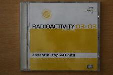 Radioactivity Volume 03-03 Essential Top 40 Hits Pulse Music DJ Tools (Box C108)