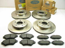 NEW GENUINE OEM Ford FRONT + REAR Brake Kit Rotors & Pads 1993-1997 Thunderbird