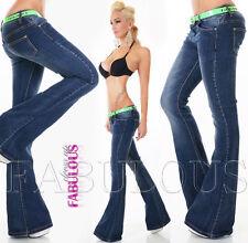 Unbranded Regular Size Flare Jeans for Women