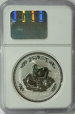 2003 Australia S$1Lunar Year Of The Goat MS69 NGC 1 OZ Silver Coin