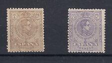 C.R LOTEJ 0483 EDIFIL Nº 289/90 CON CHARNELA