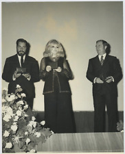 L'actrice Isabella Biagini, le réalisateur Vito Molinari et le compositeur
