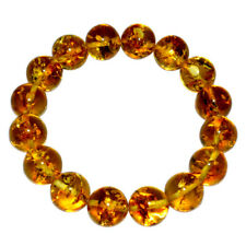 34g 17mm Authentic Baltic Amber Beads Bracelet Jewelry AH453