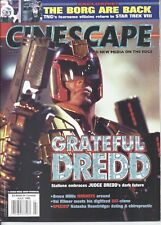 Cinescape Magazine July 1995 Judge Dredd  20,000 Leagues Under the Sea