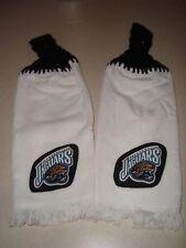 Jacksonville Jaguars Set of 2 Crochet Handmade Kitchen Fridge Golf Bar Towel NEW