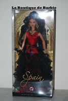 SPAIN BARBIE DOLL, DOLLS OF THE WORLD COLLECTION, EUROPE, L9583, 2007, NRFB