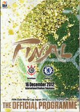 * FIFA CLUB WORLD CUP 2012 FULL SET OFFICIAL PROGRAMMES INCLUDES CHELSEA *