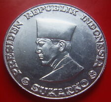 Indonesia Sukarno 50 Sen 1962 high grade