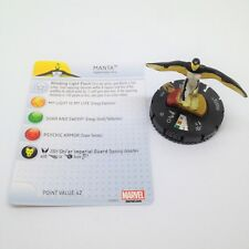 Heroclix Wolverine and the X-Men set Manta #075 Team Base figure w/card!