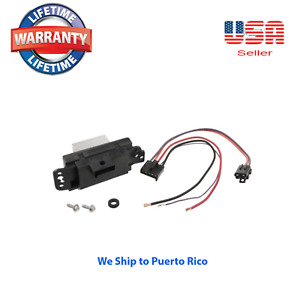 Blower Motor Resistor Speed Control Module Kit WITH CONNECTOR 19329838 19260762
