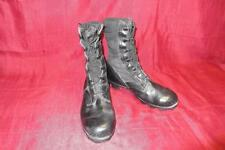 Military 6.5 Regular Black Jungle Combat Boots USGI Men Boys Vietnam Vintage 368