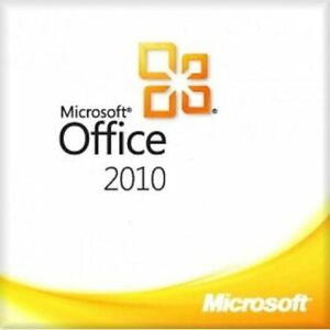 Microsoft® Office 2010 Standard 32 Bit Version für einen PC