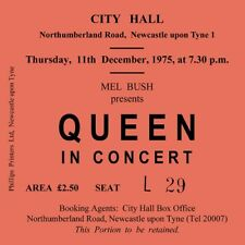 Queen Concert Coasters December 1975 concert ticket High quality MDF Coaster