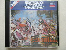 Shostakovitch Symphony No.5 Concertgebouw Orch, Haitink CD full silver W GERMANY