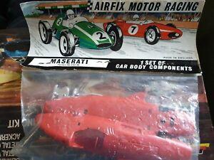 Airfix motor racing Maserati slot car mrrc 5107/m body