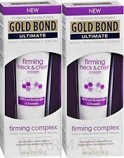 Gold Bond Ultimate Firming Neck & Chest Cream 2oz ( 2 tubes )