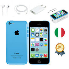BLUE APPLE IPHONE 5C 32GB NUOVA GARANZIA ORIGINALE SIGILLATO ITALIA