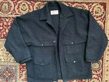 New listing Filson Men's Double Mackinaw Cruiser Wool Coat, Xlarge