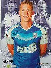 Ipswich Town v Norwich City Sky Bet Championship 21/8/2016 MINT CONDITION