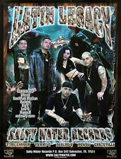 Salty Water Records 2007 Latin Legacy South Park Mexican Original Promo Poster