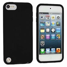 Silicone Skin Case for iPod Touch 5th Gen - Black