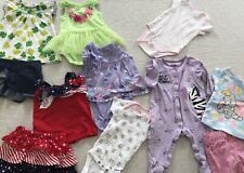 Baby Girl 3-6 Months Summer Clothes Lot Dress Skirt Capris 1 pc Creepers