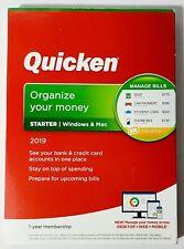 Intuit Quicken Organize Your Money 2019 Windows Mac SEALED NEW READ DESCRIPTION