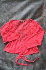 Wardrobe shrug, wine lace, size 14 NEW NEVER WORN, NO TAGS.