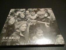 """CD DIGIPACK NEUF """"CHANTEUR PUBLIC"""" Elie GUILLOU"""