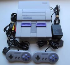 Super Nintendo SNES Console System Complete w/ 2 Official Controllers OEM Cords