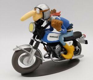 """1/18 Figurine Joe Bar Team FANE-Bar 2 """"Aimé Lasauce Kawasaki 350 Avenger 1971"""""""