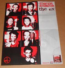 The Ex Starters Alternators Poster Original Promo 17x22