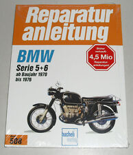 Reparaturanleitung BMW R 50 60 75 90 /5 + /6 + S, Baujahre 1970 - 1976