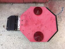 School Bus USED AIRBAG Folding Stop Sign SINGLE side Stop W/ Lights.