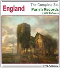 English Parish Registers - 1,000 Books on 4 DVDs! - England Genealogy History 71
