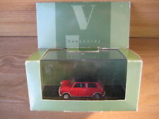 VANGUARD by CORGI 1/43rd VA 02512 MINI COOPER S  40th Anniversary Red/Black