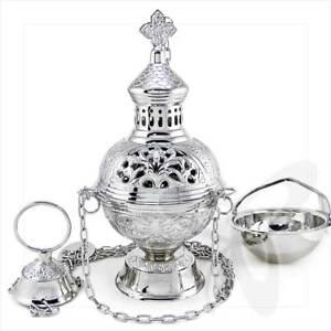 2957Handmade Gold Censer out of Brass church incense burner distiller кадильница