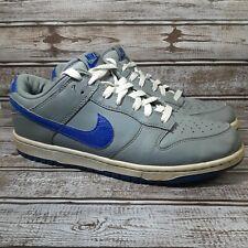 Nike Dunk Low 2012 Cool Grey Royal 318019 019 Shoe Men's Size 9