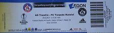 Billete uel 2017/18 como Trencin vs FC Torpedo Kutaisi