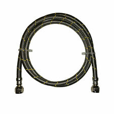 Propane, Natural Gas Line 6 ft Stainless Steel Braided Hose LP LPG Grill Parts