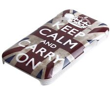 Custodia protettiva per Samsung Galaxy Ace s5830 Custodia Case Cover Keep Calm and Carry On