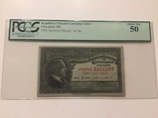 1924 Republican National Convention Ticket President Calvin Coolidge PCGS 50