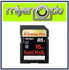 SanDisk Extreme PRO 16GB SDHC Memory Card