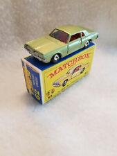 Vintage Matchbox Lesney # 62c Mercury Cougar 1968 – MIB