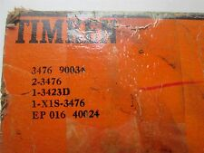 New Timken Tapered Roller Bearing Double Cup Cone Matched Set 3476 3423D