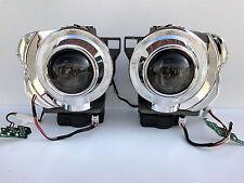 2x OEM BI-Xenon HID D1S PROJECTORS w / SHROUDS MOTORS WIRING LENSES SET RETROFIT